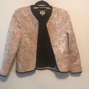 Wilfred blazer sz  6 pink tuxedo style